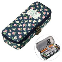 BTSKY Cute Pencil Case - High Capacity Floral Pencil Pouch Stationery Or... - $13.35