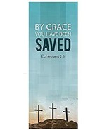 Easter Series X-Stand Banner - by Grace You Have Been Saved - $55.34