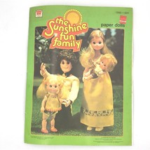 Vintage 1978 Sunshine Fun Family Paper Dolls Book Uncut New Whitman Retr... - $9.95