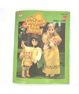 Vintage 1978 Sunshine Fun Family Paper Dolls Book Uncut New Whitman Retr... - $9.95