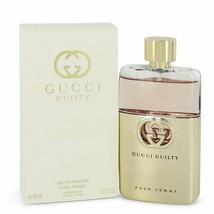 Gucci Guilty Pour Femme by Gucci Eau De Parfum Spray 3 oz for Women - $99.99