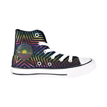 """Converse Chuck Taylor All Star Hi """"All Of The Stars"""" Kids' Shoes Black 665397F - $40.00"""