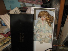 "Vintage Westminster limited edition porcelain doll ""Danielle"" NIB-FREE S... - $26.00"