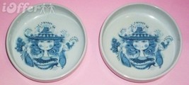 MADE IN JAPAN SHAFFORD CHINA- MID CENTURY BJORN WIINBLAD STYLE PLATES 4 ... - $17.45