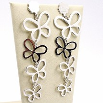 Drop Earrings Silver 925, Family Butterflies, by Maria Ielpo , Made in Italy image 1