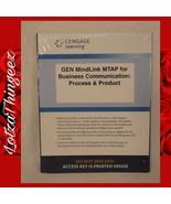 Cengage Learning GEN MindLink MTAP 4 Business Communication: Process & P... - $26.72