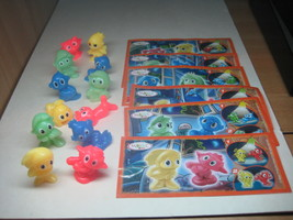 Kinder - 2010 DE001-006 Elfs & kobolds - complete set + 6 papers - surprise eggs - $6.50
