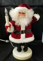 Rennoc Animated Santa Claus Illuminated Little People Motionette Christm... - $29.02