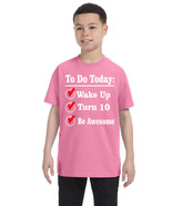Kids Birthday Shirt Turn 10 Ten Year Old Gift 10th Funny Bday Outfit - $18.94