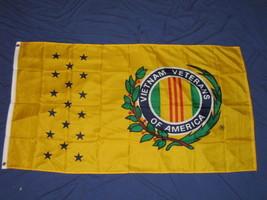 3X5 VIETNAM VETERANS OF AMERICA FLAG VETERAN VET F760 - $7.80
