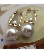 Double Pearls Dangle Earrings for Women - $1.99