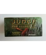 Judge For Yourself Pressman Boardgame The Game of Real Life Courtroom Dr... - $29.58