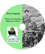 50 old books History & Genealogy of West Virginia WV - $6.76
