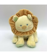 """Babies R Us Yellow Lion Jungle Animal Cat Plush Baby Toy Lovey 9""""  - $8.86"""