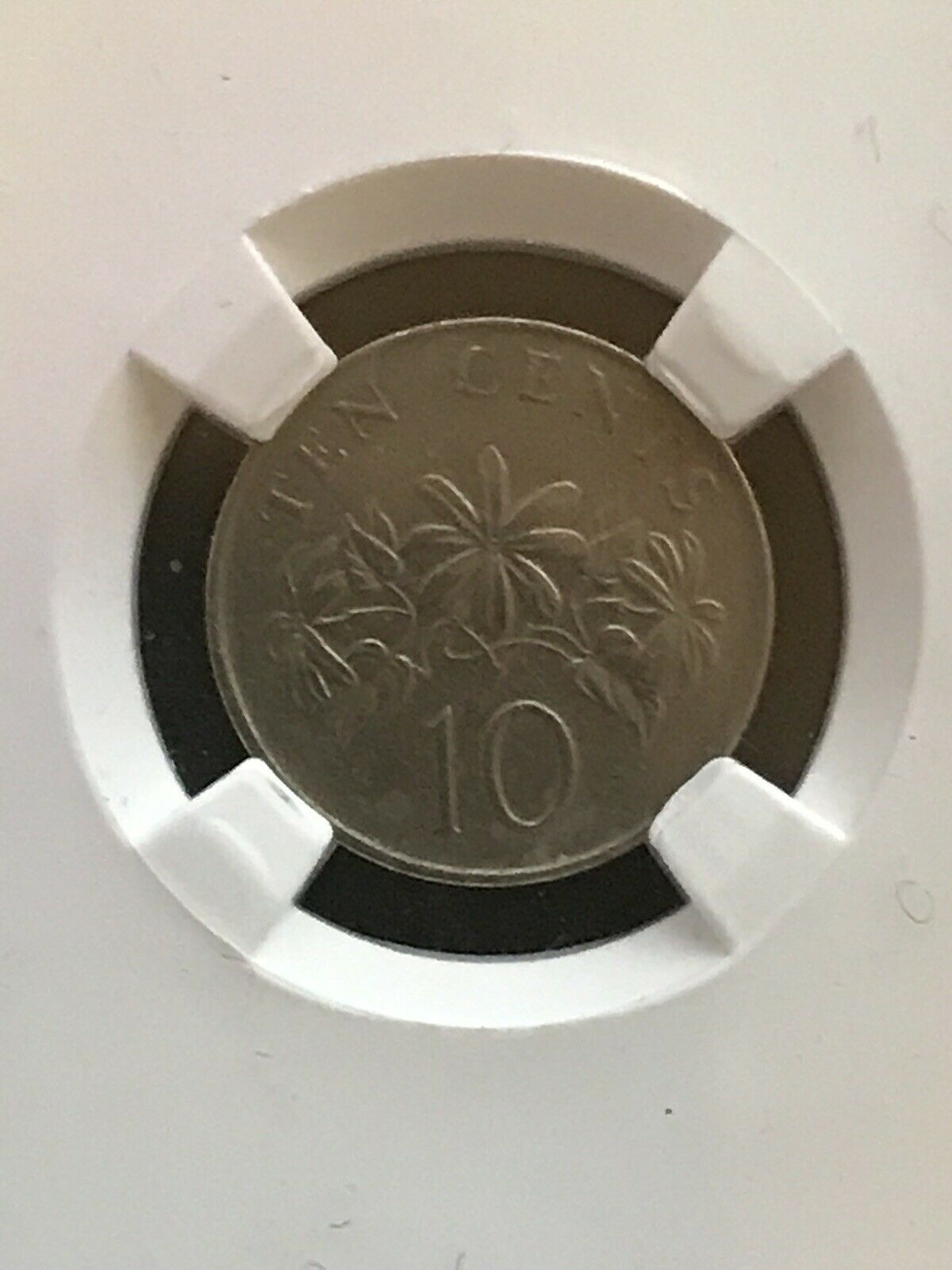 Primary image for 1986 Singapore 10cents Coin KM# 51