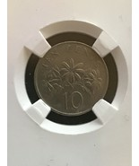 1986 Singapore 10cents Coin KM# 51 - $5.00