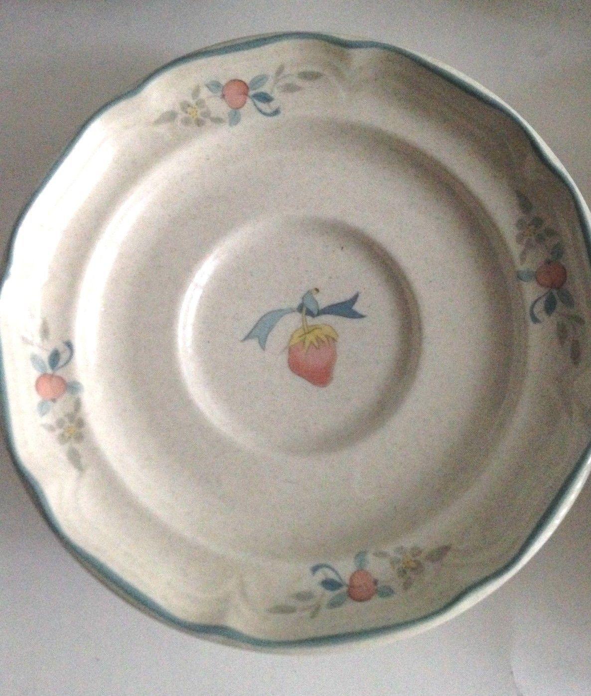 Vintage International Tableworks Stoneware Ceramic Saucer Plates Set Of 3  Japan   $12.55