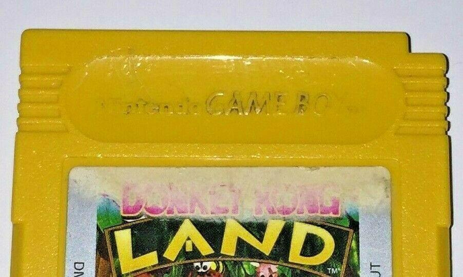 Nintendo Game Boy Donkey Kong Land Video Game Cartridge Tested Working Used Wear