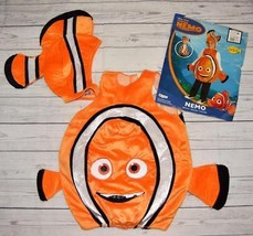 Childs 4 5 6 Halloween Costume Disney Pixar Finding NEMO 2pc Clown Fish ... - $19.99