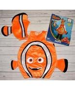 Childs 4 5 6 Halloween Costume Disney Pixar Finding NEMO 2pc Clown Fish ... - $19.99