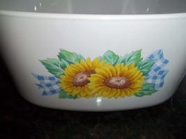 Sunsations AKA Sunflowers, Corning Ware A-3-B, 3 Quart/ liter Casserole ... - $28.16