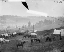Union Federal Army Troop Encampment 1862 Virginia - 8x10 US Civil War Photo - $8.81