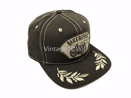 Goorin Bros Brown Bakersfield Patch Embroidered Laurel Leaf Snapback Hat... - $27.99