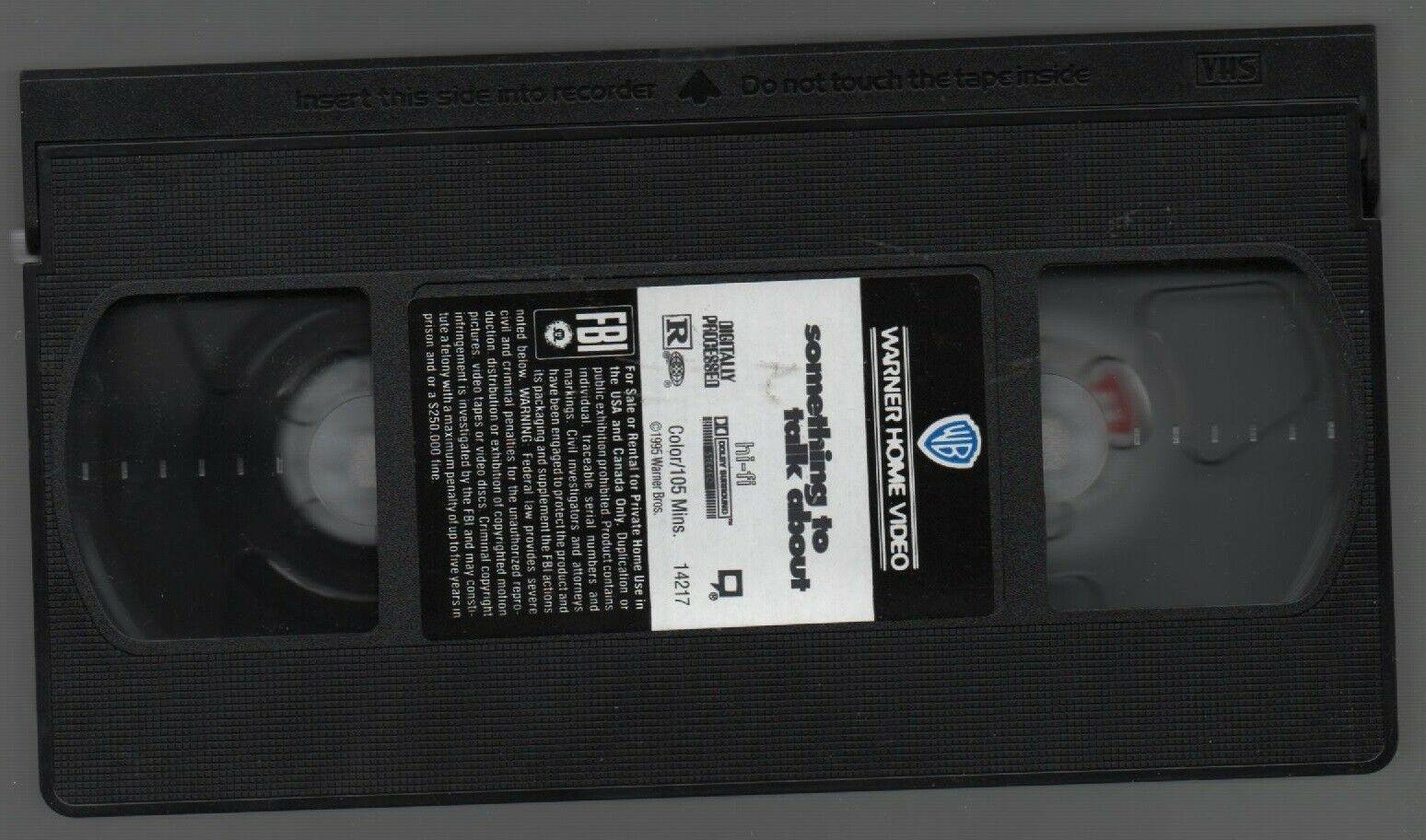 Something to Talk About - Julia Roberts, Robert Duvail - Warner Bros - VHS 14217 image 4