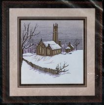 Cross My Heart Evening Service Church Classic Counted Cross Stitch Kit - $23.99