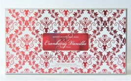 Commonwealth Soap & Toiletries ( CST ) 3- 8 Ounce Cranberry Vanilla Triple Mille - $20.00