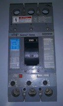 Siemens Sentron Breaker Cat. No. FXD63B250, 250 A Type FXD6 3 Pole 600V AC - $187.11