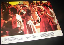 1982 Bob Clark Movie PORKY'S Press Photograph Still High School Dance 4 - $8.79