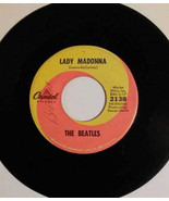"THE BEATLES ""Lady Madonna-The Inner Light 45 RPM record with Sleeve - $25.00"