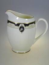 Pfaltzgraff Royal Onyx Creamer Made in The USA Bone China - $14.92