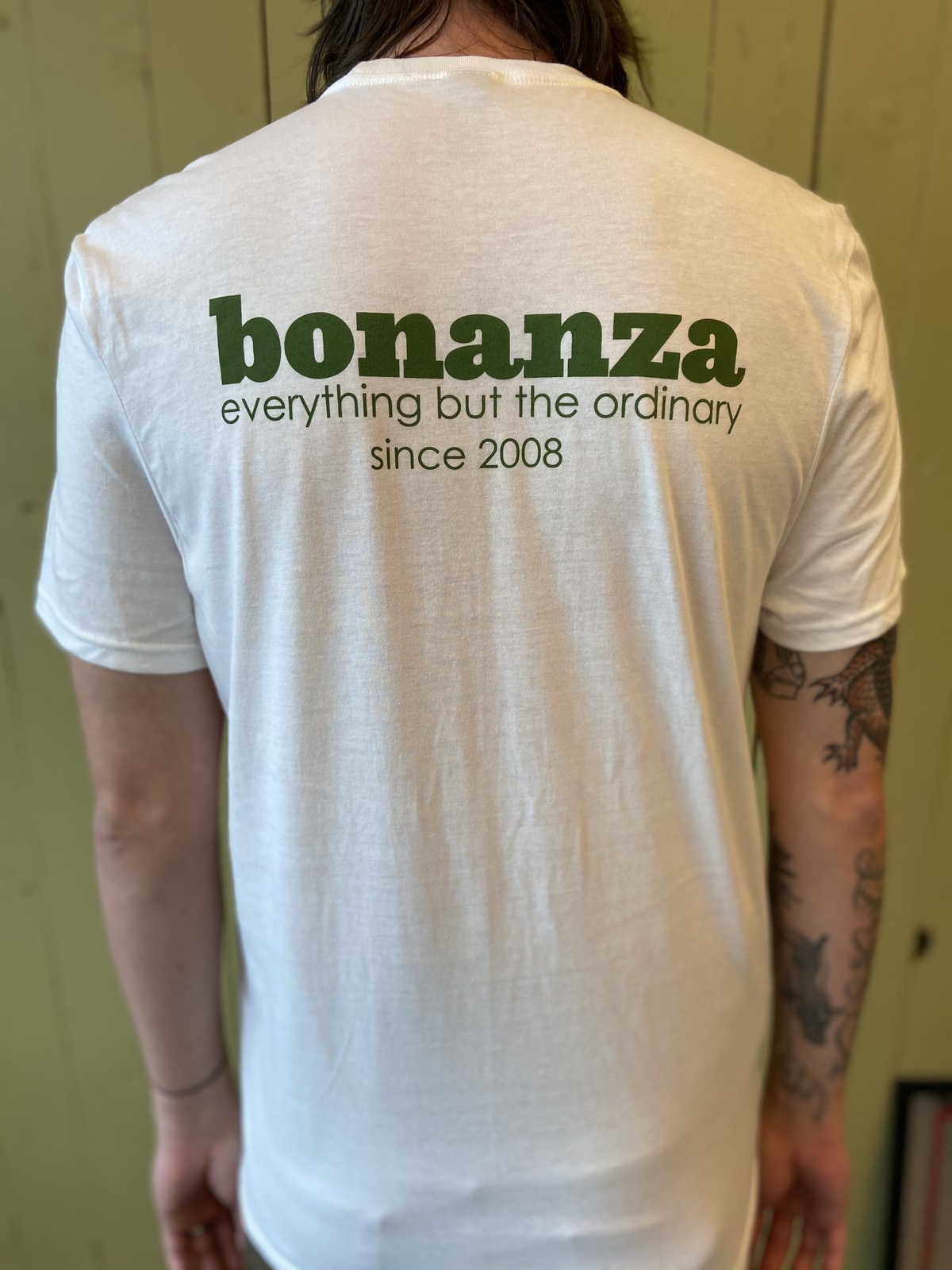 "Primary image for Classic BONZ ""Everything But the Ordinary"" T-shirt (White)"