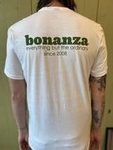 "Classic BONZ ""Everything But the Ordinary"" T-shirt (White) - $10.00"
