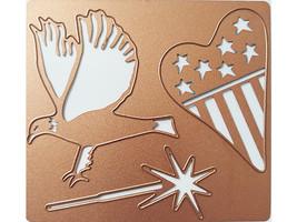 Spellbinders Patriotic Die Set #S4-018