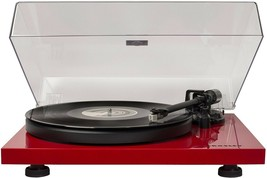 CROSLEY C6A-RE C6 2 Speed Manual Turntable Record Player Red NEW - £125.33 GBP