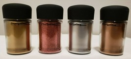 MAC Pigment Colors Gold Silver Copper Rose Gold Poudre Eclat Free Shipping - $13.00
