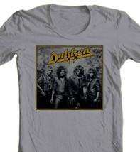 Dokken T-shirt Under Lock Key 1980's heavy metal band retro rock concert tee image 1