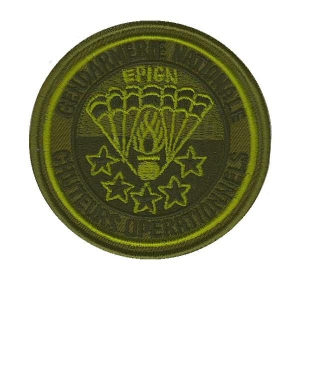 nationale gendarmerie epign sauteur operationel france national police halo 4.25 x 4.25 in 9.99