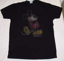 Mickey Mouse Walt Disney World T-shirt L Womens Black Large - $22.05