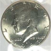 1987-D Kennedy Half Dollar BU in The Cello #0709 - $8.29
