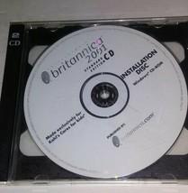 Britannica 2001 Standard Edition CD ROM - Windows - Vintage Software DISC - $29.07