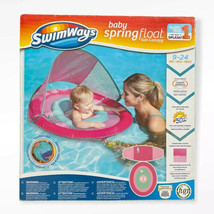 New SwimWays Baby Spring Pool Swim Float Sun Canopy Infant Baby 3-9 Mont... - $28.70