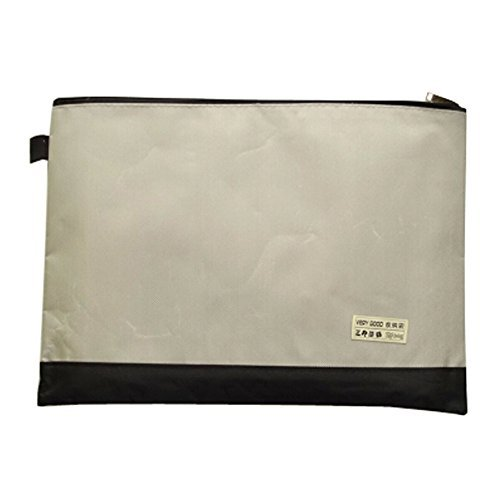 Primary image for 2PCS Canvas Document Folders File Pockets Zipper Bag, G