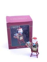 1994 NIB Santa - in- the- box Christmas Ornament Carlton Cards Squirrel - $11.20