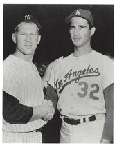 Whitey Ford & Sandy Koufax 8X10 Photo New York Yankees Ny Mlb Baseball Picture - $3.95