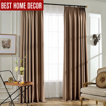 tailor-made solid modern blackout curtains for window blinds 95% shading... - $46.05