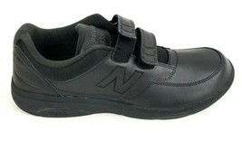 Leather Walking Shoes Mens 13 D New Balance 813 Heel Stability Quick On and Off  - $77.39